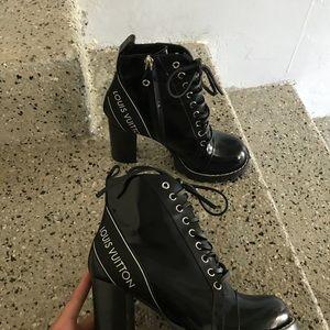 2f9e42b2c2b2 Louis Vuitton Shoes - Louis Vuitton Star Trail Boots size EURO 38   US 8